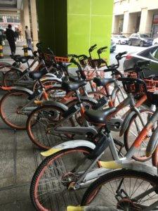 จักรยานแบบ share